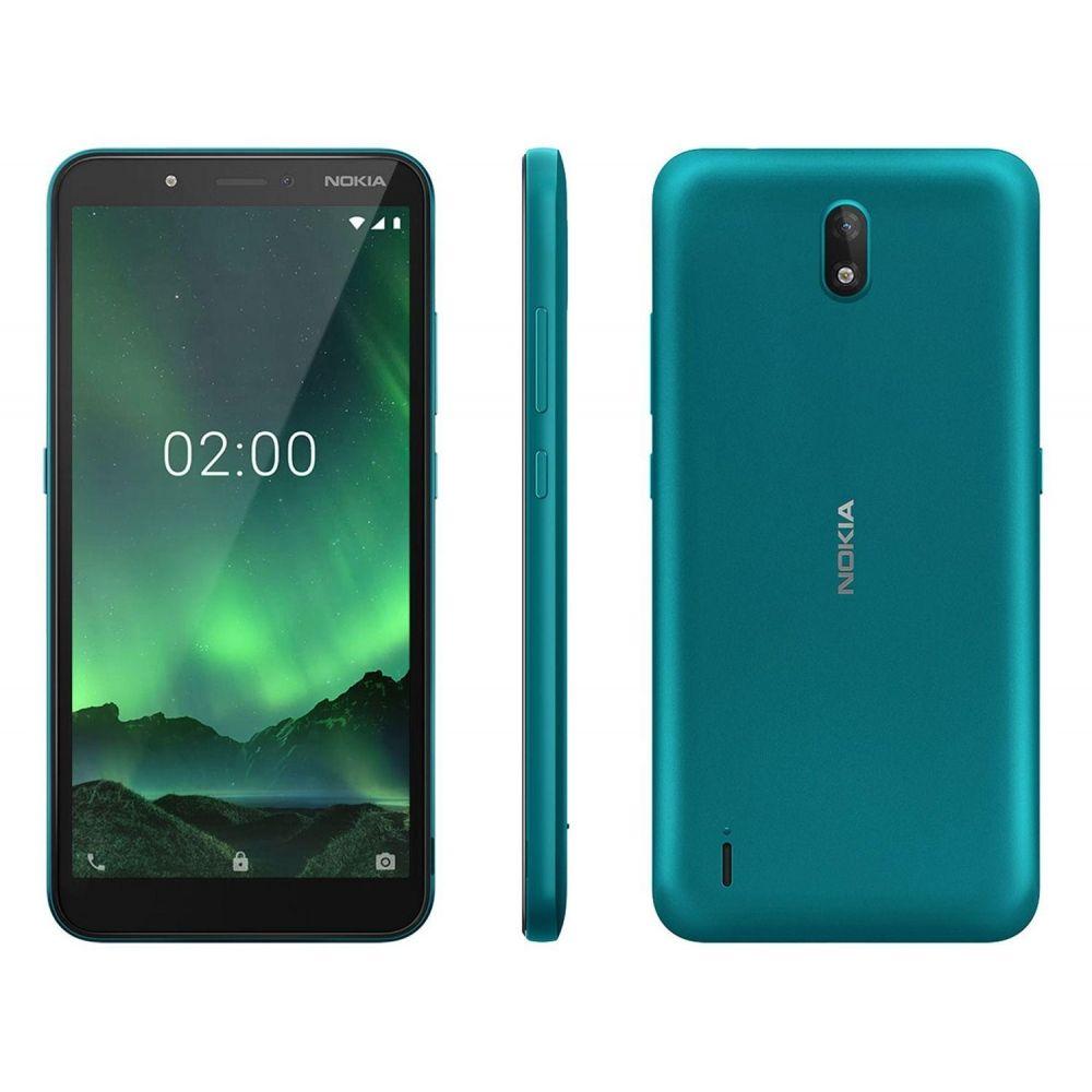 Celular Smartphone Nokia C2 16gb Verde - Dual Chip