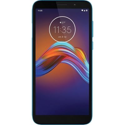 "Smartphone Moto E6 Play 32GB Dual Chip Android Tela 5.5"" MT6739 4G Azul"