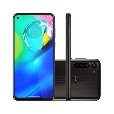 "Smartphone Motorola Moto G8 Power 64GB Dual Chip Tela 10 6.4"" 4GB Preto"